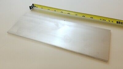 6061 Aluminum Flat Bar 14 Thick X 4 Wide X 11 Long Solid Stock Machining