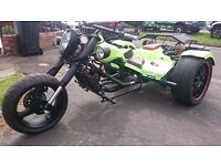 Stunning VW Trike - 1.9 petrol flat four engine - much more power than an average VW Trike