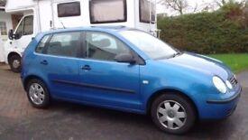 VW Polo 1.9 Diesel Blue 5 door 96,000 miles