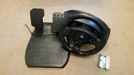 Thrustmaster T80 Racing Wheel for PS3 and PS4
