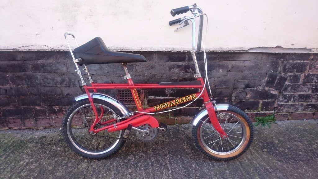 Vintage 1970s Original Raleigh Tomahawk Bicycle All