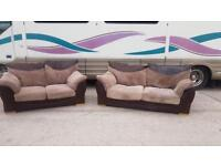 2 x Sofa - Deliver locally if needed