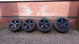 """Vauxhall VX220 17"""" Alloys"""