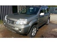 breaking silver KX4 nissan xtrail T-spec manual 4x4 parts spares