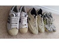 Men's Shoes Adidas and Lacoste
