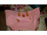 Pink brics travel bag