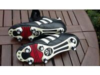 ADIDAS WORLD CUP AND COPA MUNDIAL FOOTBALL BOOTS - USED SIZE 5