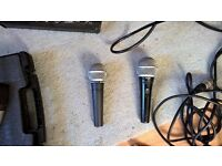 sm58 microphone with lead for sale