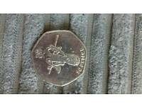 Collecters 50p