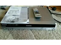 panasonic dvd recorder with remote and instructions