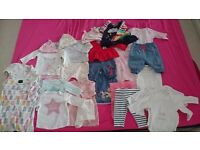 Next,Disney baby girl 0-3 months bundle