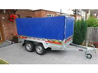 BRAND NEW CAR TRAILER 2 AXLES