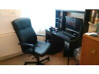 Alienware gaming PC with 20 inch monitor, desk, pc chair and accessories. Please see description