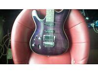 ibanez sa series left handed guitar