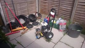 PRESSURE CLEANING BUSINESS   Pressure washer + trailer + full equipment + WEBSITE! ONE YEAR WARRANTY