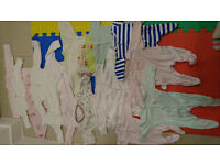 bundle baby girl clothes 0-3 and 0-6 months OVER 50 ITEMS!!!!!!!