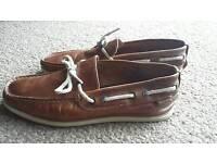 River Island mens deck shoes size 7