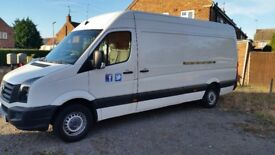 2011 VOLKSWAGEN CRAFTER CR35 LWB HIGH ROOF 109PS PANEL VAN FULL SERVICE HISTORY 1 PREVIOUS OWNER