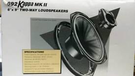 Infinity Kappa mk2 6×9 2 way car speakers