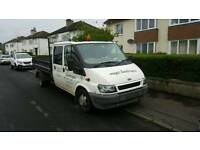 2003 transit double cab tipper spares or repair
