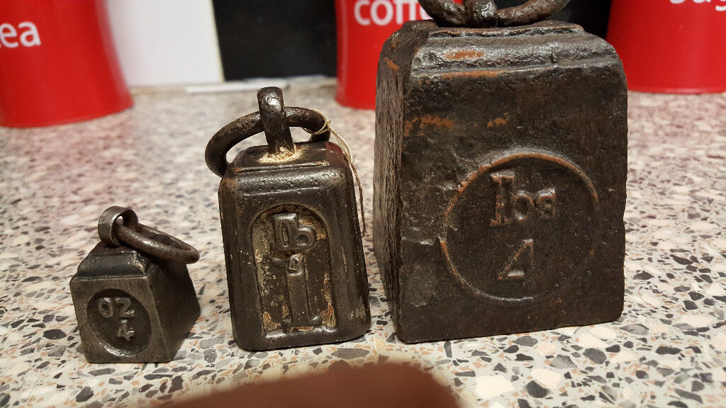 3 old weights