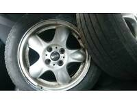 MINI Alloy Wheels x 2