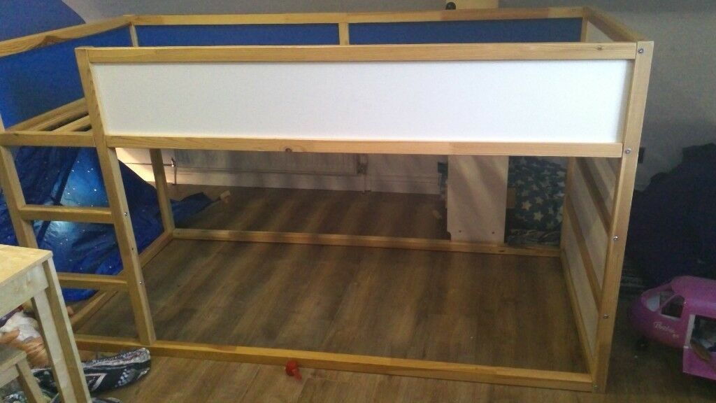 Ikea Bunk Beds With Blue Cowboy Wagon Hood In Dunblane Stirling