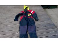mullion floatation fishing suit large