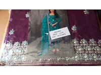 New women unstitched salwar suite