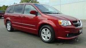 2015 Dodge Grand Caravan CREW PLUS- LEATHER- TOW GROUP- CLEAN CA