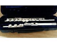 Flute with Original Case - Trevor James TJ10xiii (Works Fine)