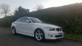 2011 BMW 118d 1 Series Coupe SPORT EXCLUSIVE EDITION with Red Leathers Sun Roof HUGE SPEC