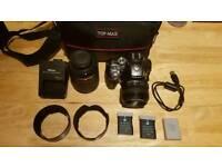 Nikon D5300 + Nikkor 18-140mm + Nikkor 50mm