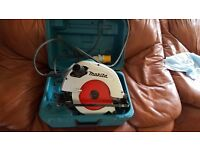 Makita 110v 190mm skill saw with warranty for sale
