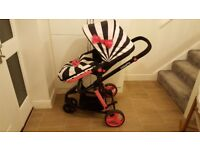 Cosatto Giggle 2 Travel System - Go Lightly 2 with CAR SEAT + Free stuff - Must go soon