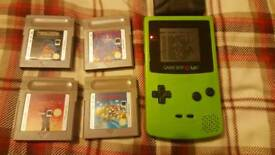Game boy colour.