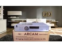 Arcam FMJ 32T audiophile tuner DAC WM 8740 / Burn Brown opa amp AS NEW boxed