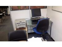 2 Person Office To Let in Croydon, Only £575.00 PCM including Internet, phone, all bills and Taxes