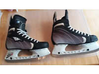 Mission (Bauer) Pure L3 Ice Hockey Skates - Size 9E 9.5UK - Pro boots - as new only used 3 times