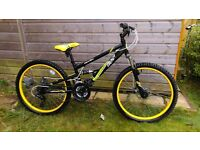 Boy's Apollo Frenzy Mountain Bike - 24""