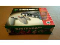 Nintendo 64 Console with Box