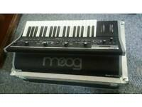 Moog Little Phatty MkII with flight case. Perfect condition
