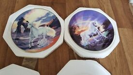 Limited addition unicorn plates