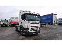 2008 Scania R420, 6x2, Tractor Unit, Mid Lift, Opticruise Gearbox