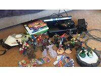 Xbox 360 Kinect with games and Disney infinity bundle