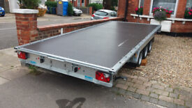 WOODFORD TRAILERS BRAND NEW 3 axle 16'x7'3 3500kg flatbed