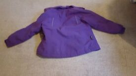GIRLS KARIMOR PURPLE JACKET