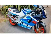 Suzuki gsxr 750 motorbike