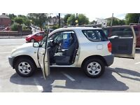 TOYOTA RAV4 D4D GOOD CONDITION PERFECT RUNNER WARRANTY IS AVAILABLE