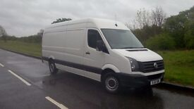 VW CRAFTER VAN LWB FOR SALE EXCELLENT CONDITION LOW MILEAGE!!